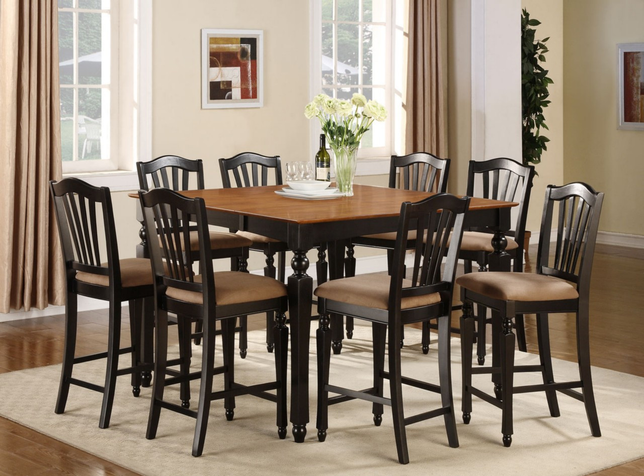 Best ideas about Tall Dining Table . Save or Pin 49 Tall Dining Room Tables Sets Tall Dining Room Tables Now.