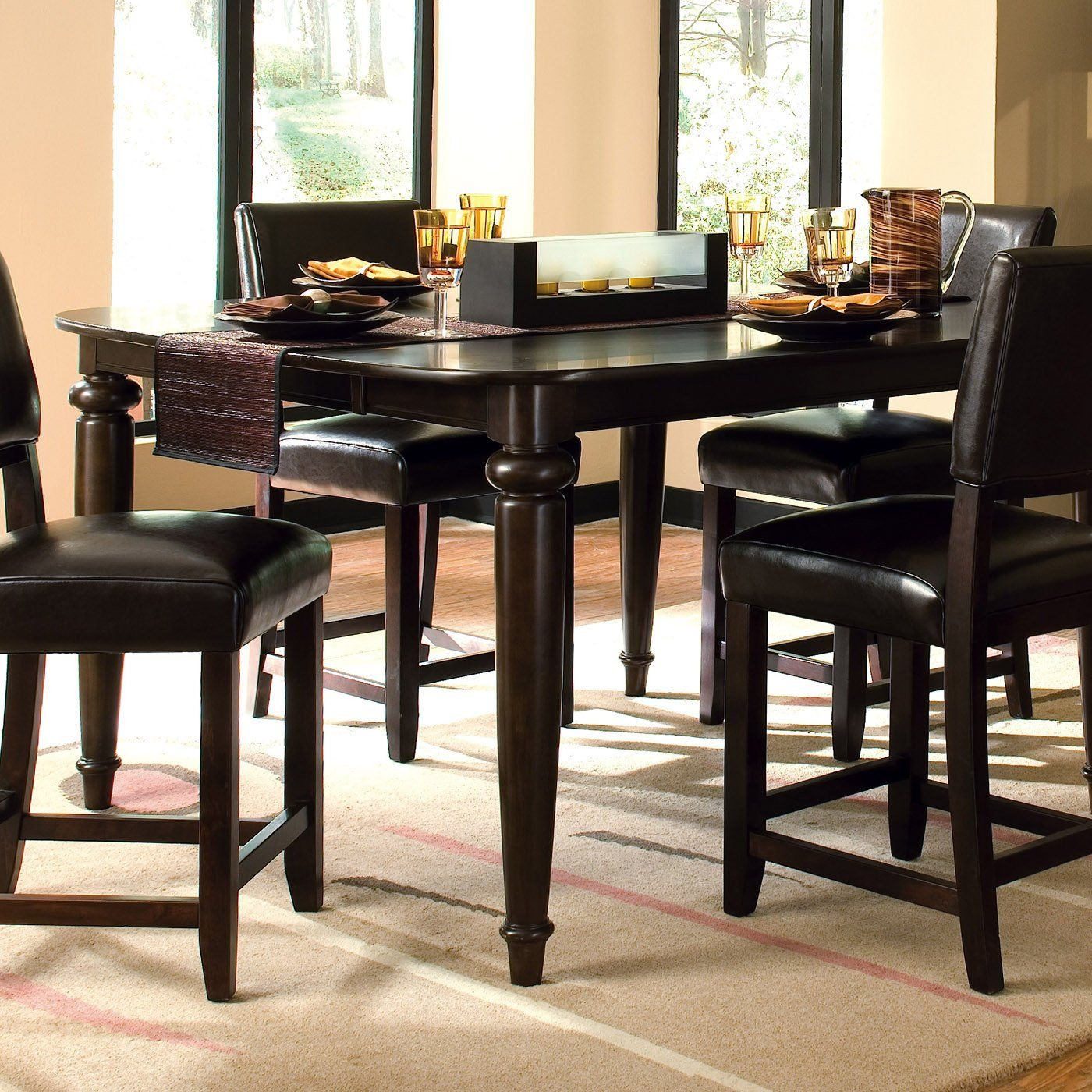 Best ideas about Tall Dining Table . Save or Pin Kincaid Furniture 46 058 Somerset Tall Dining Table Now.