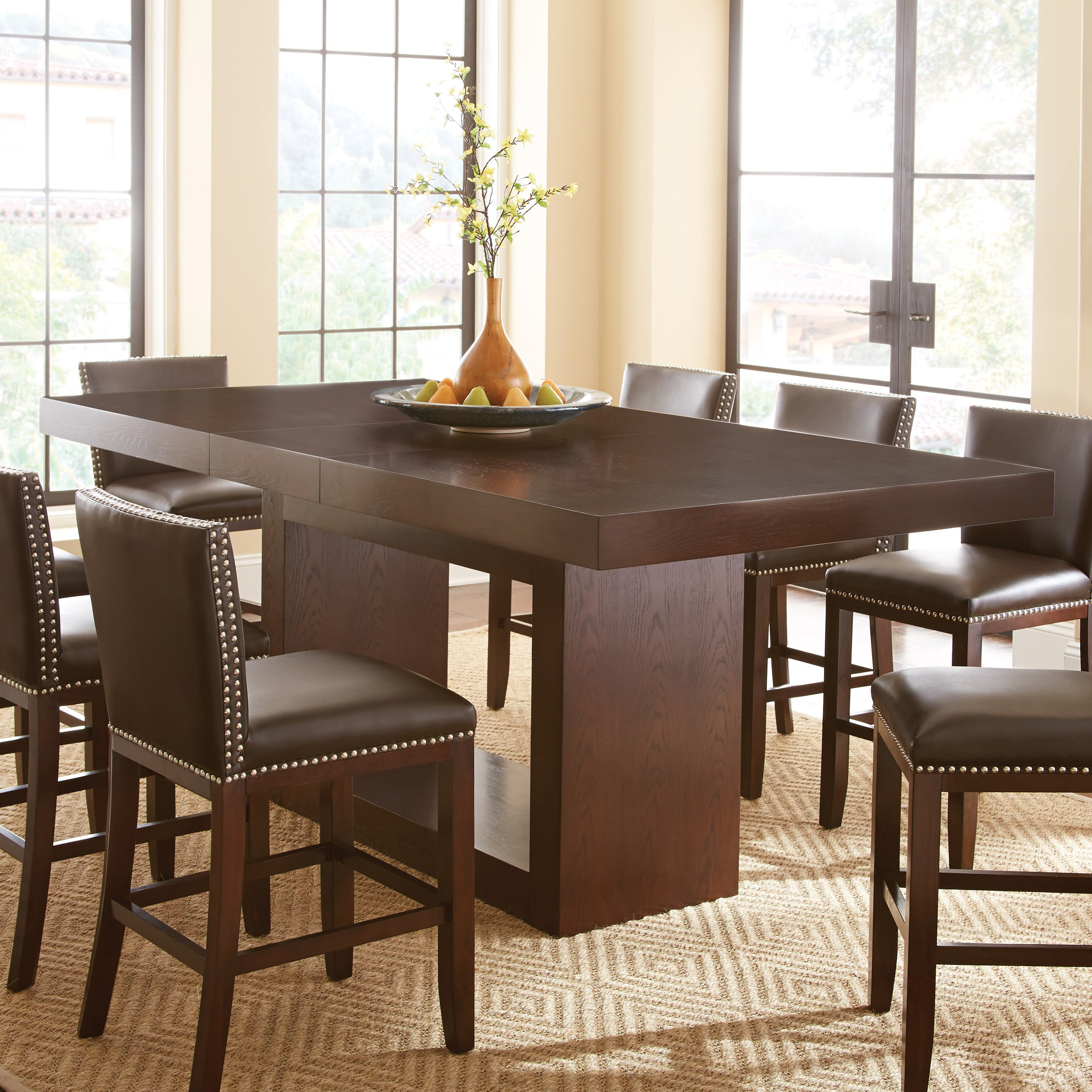Best ideas about Tall Dining Table . Save or Pin Steve Silver Antonio Counter Height Dining Table Dining Now.