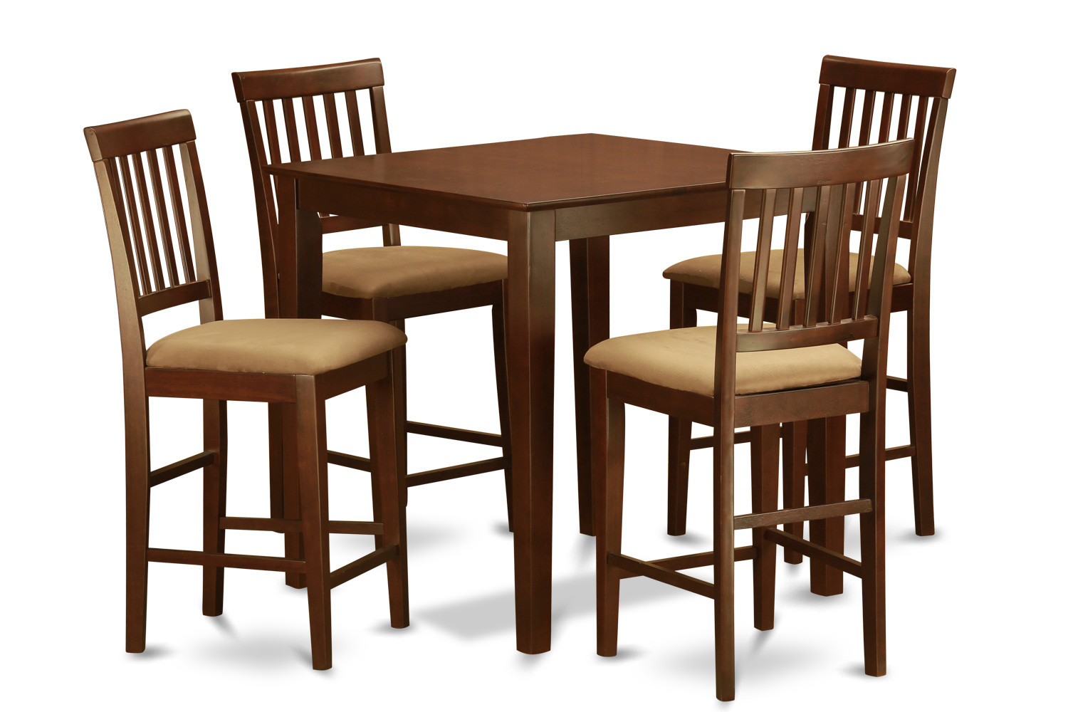 Best ideas about Tall Dining Table . Save or Pin 5 Piece Counter Height Table Set Table and 4 Kitchen Now.