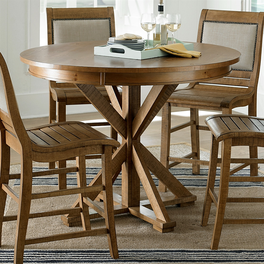 Best ideas about Tall Dining Table . Save or Pin Progressive Furniture Willow Round Counter Height Dining Now.