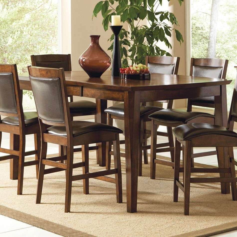 Best ideas about Tall Dining Table . Save or Pin Tall Dining Table Leann Counter Height Dining Set Tall Now.