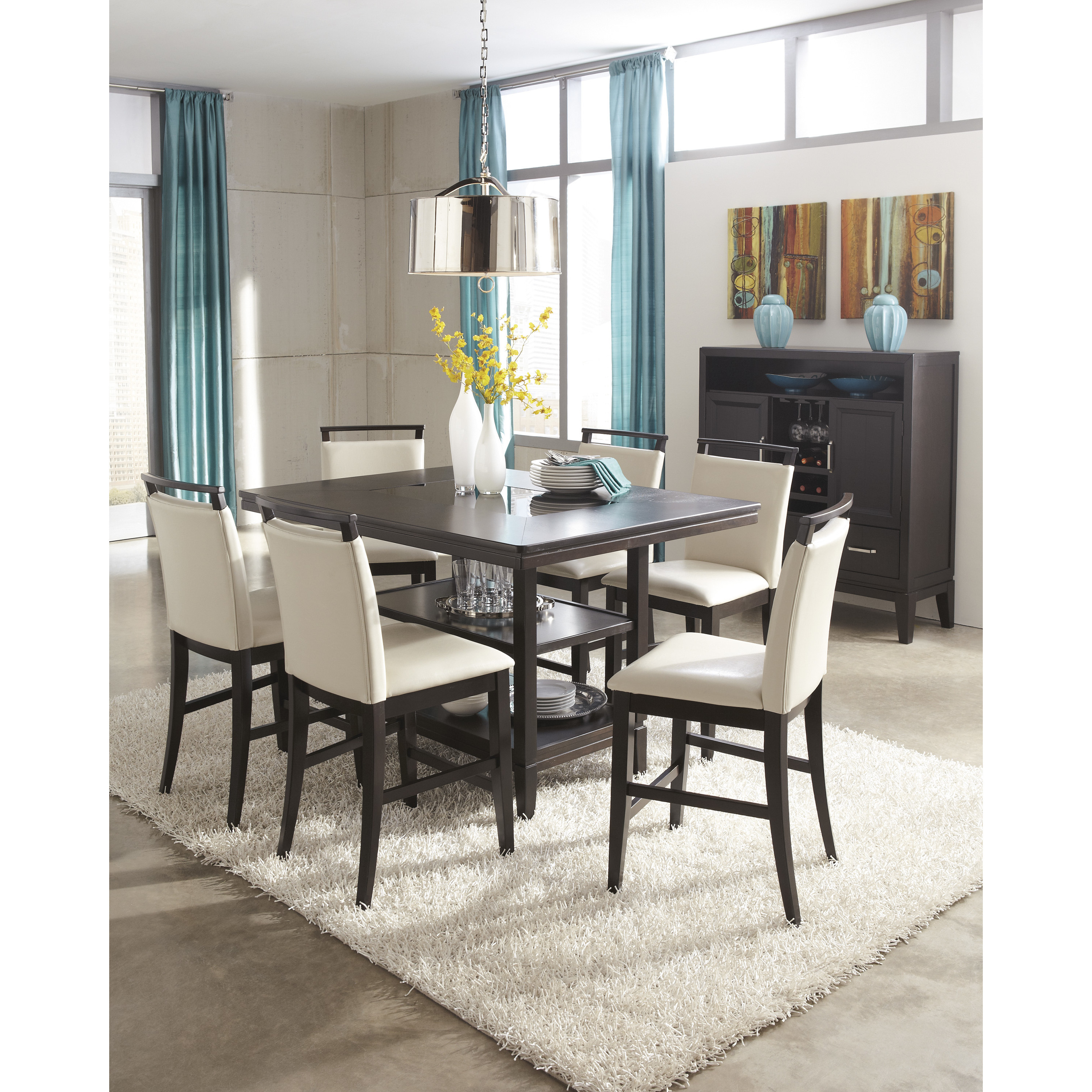 Best ideas about Tall Dining Table . Save or Pin Signature Design by Ashley Trishelle Counter Height Dining Now.