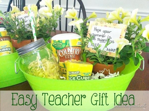 Best ideas about Teacher Appreciation Gift Basket Ideas . Save or Pin 10 Easy & Fun Teacher Appreciation Gifts Now.