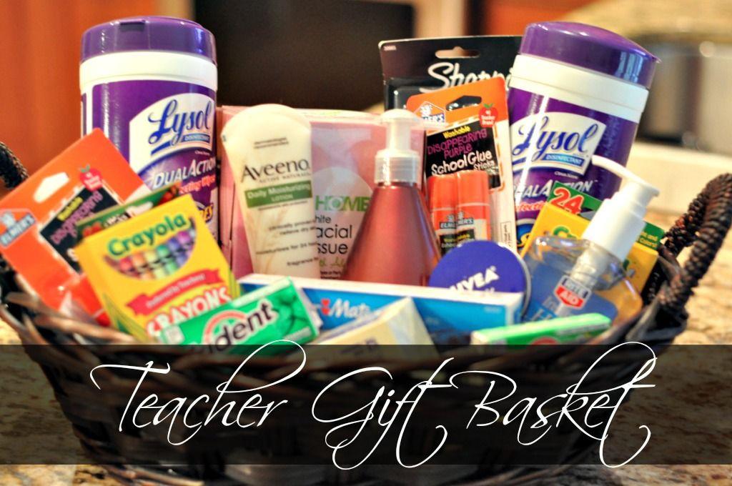 Best ideas about Teacher Appreciation Gift Basket Ideas . Save or Pin Teacher Gift Ideas A Bud Teacher Gifts Now.