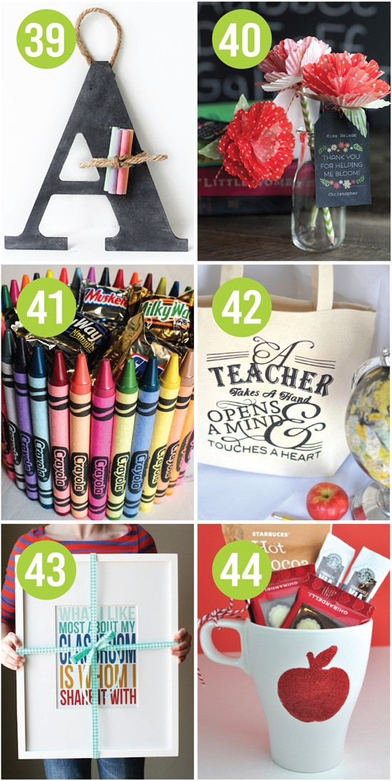 Best ideas about Teacher Appreciation Gift Ideas . Save or Pin Quick and Easy Teacher Appreciation Gifts And Ideas The Now.