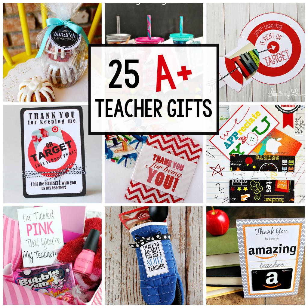 Best ideas about Teacher Appreciation Gift Ideas . Save or Pin 25 Teacher Appreciation Gifts That Teacher Will Love Now.