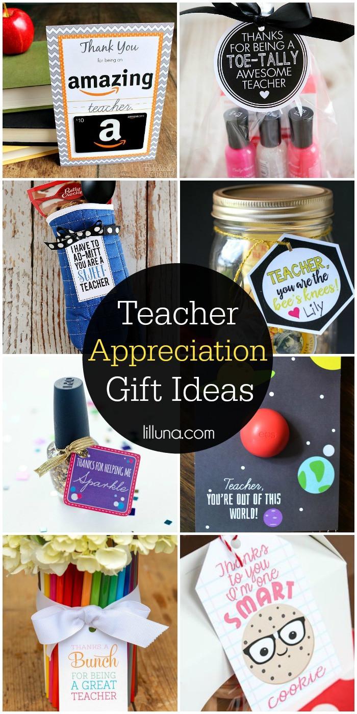 Best ideas about Teacher Appreciation Gift Ideas . Save or Pin Teacher Appreciation Gift Ideas Now.