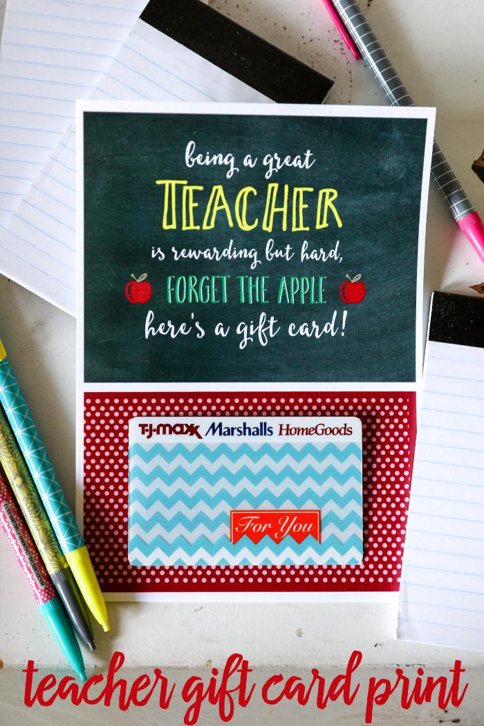 Best ideas about Teacher Gift Card Ideas . Save or Pin Teacher Appreciation Gift Card Holder Lil Luna Now.