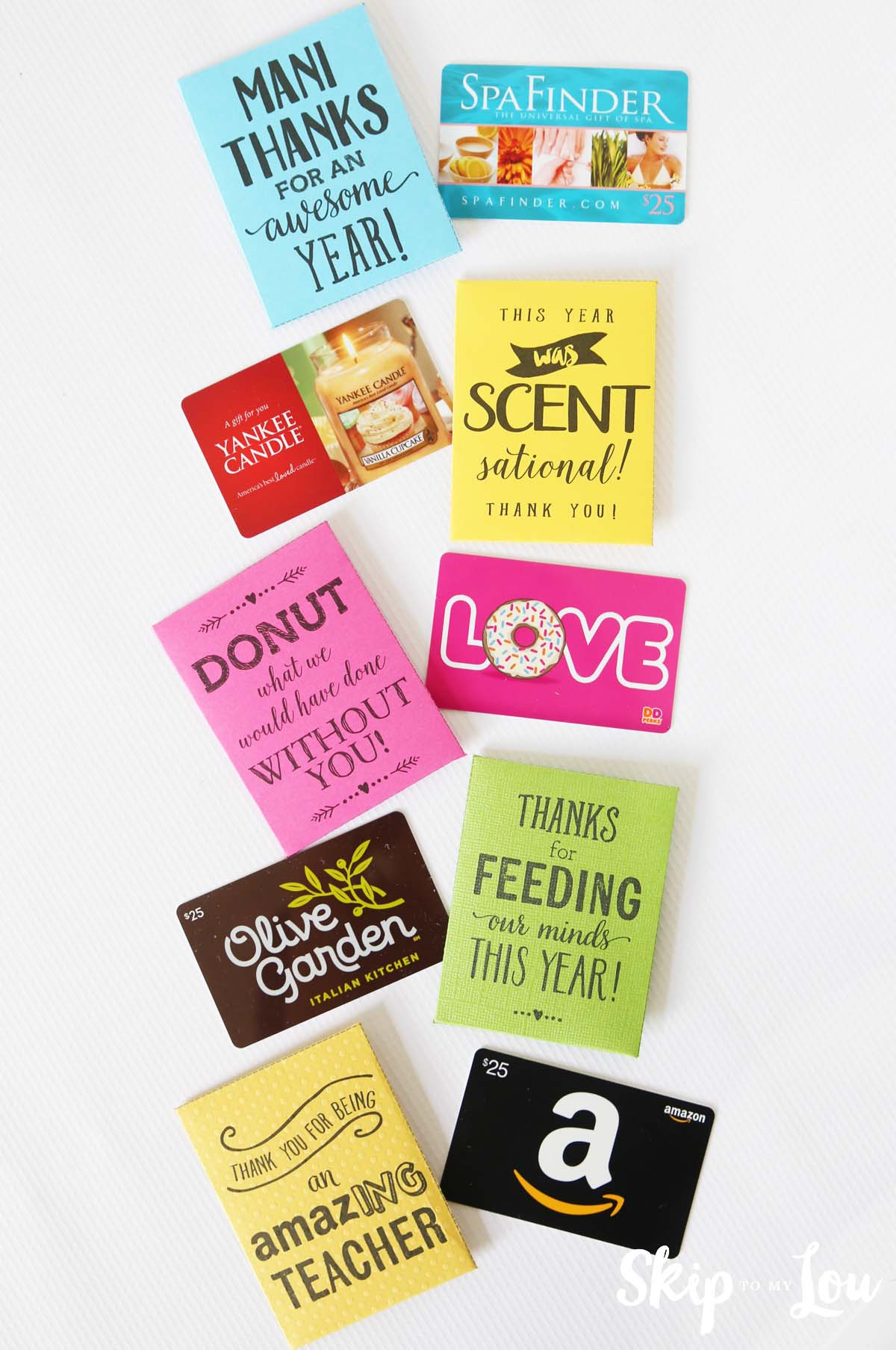 Best ideas about Teacher Gift Card Ideas . Save or Pin End of the Year Teacher Gifts Now.