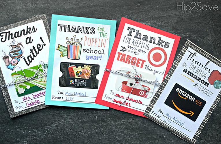Best ideas about Teacher Gift Card Ideas . Save or Pin Most Popular Gift Ideas for Teacher Appreciation Week Now.