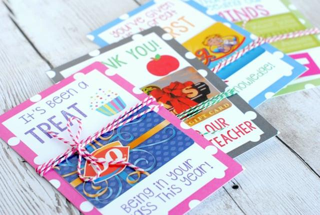 Best ideas about Teacher Gift Card Ideas . Save or Pin Teacher Appreciation Gift Card Holders Now.