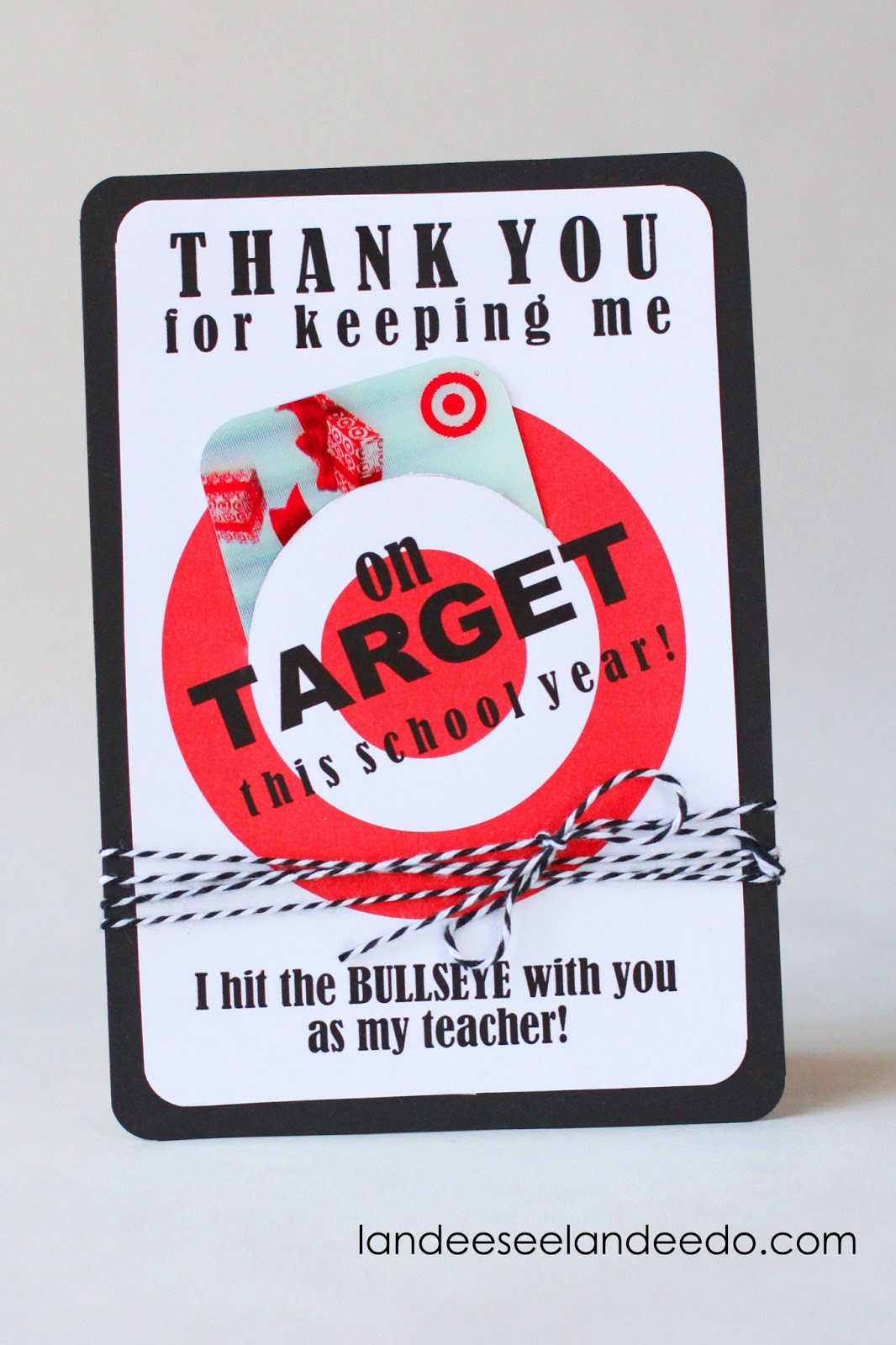 Best ideas about Teacher Gift Card Ideas . Save or Pin Teacher Gift Idea Printable Tar Gift Card Holder Now.