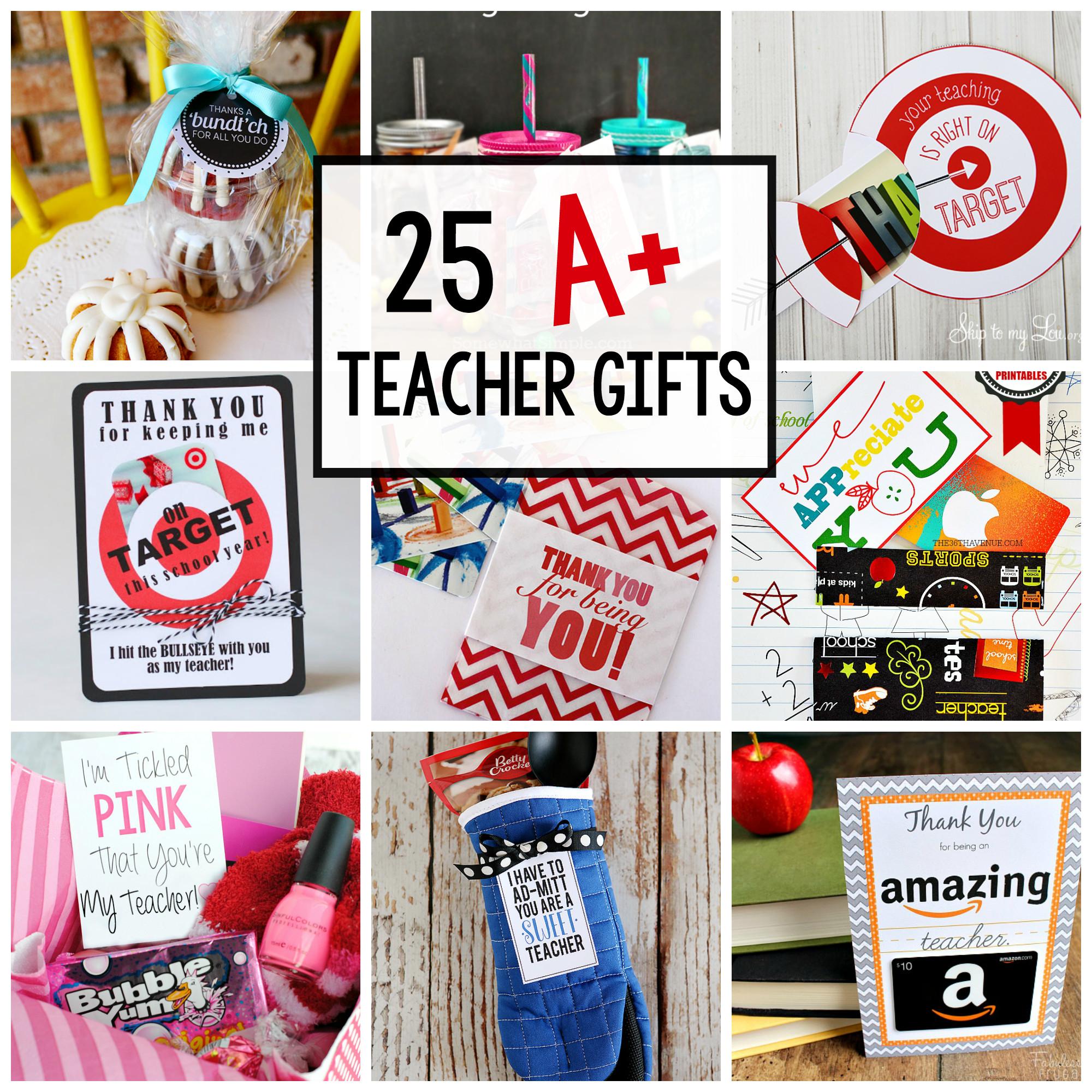 Best ideas about Teachers Appreciation Gift Ideas . Save or Pin 25 Teacher Appreciation Gifts That Teacher Will Love Now.