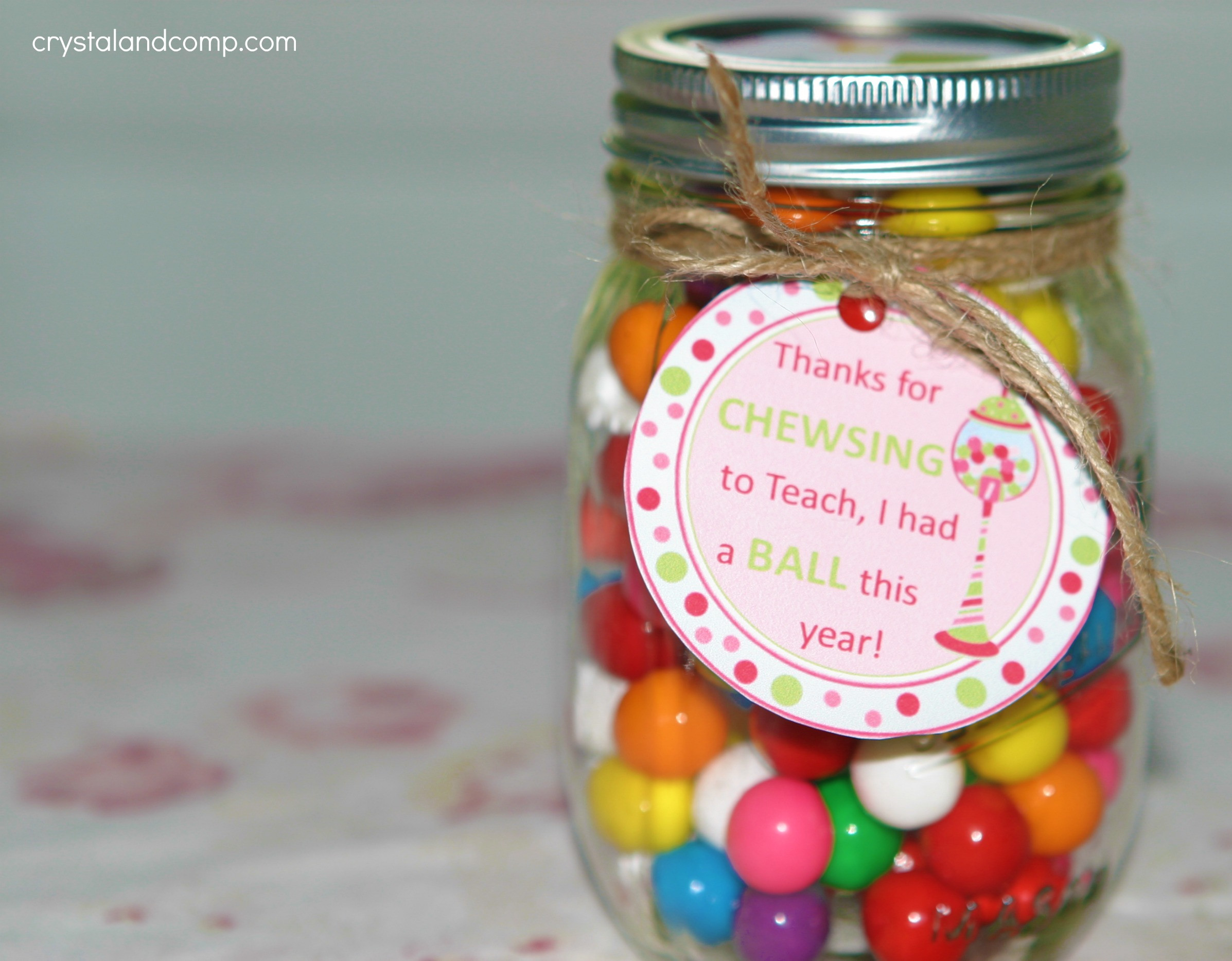 Best ideas about Teachers Gift Ideas . Save or Pin Teacher Appreciation Gift Ideas Bubble Gum Now.