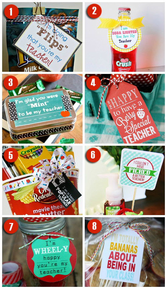 Best ideas about Teachers Gift Ideas . Save or Pin 101 Easy & Creative Teacher Gift Ideas Now.