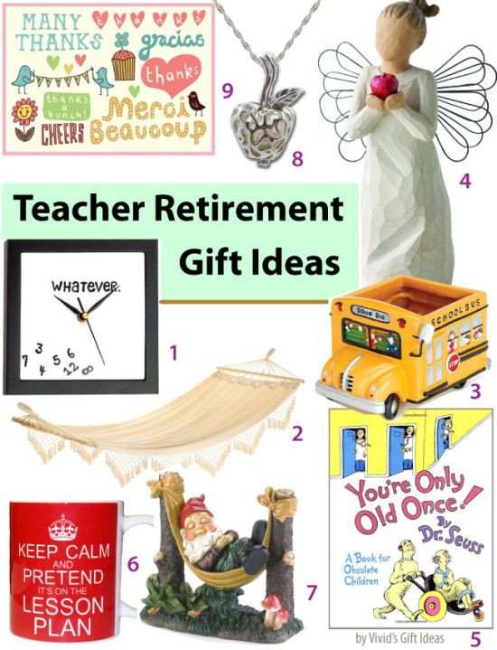 Best ideas about Teachers Retirement Gift Ideas . Save or Pin 17 Best images about retirement party ideas on Pinterest Now.