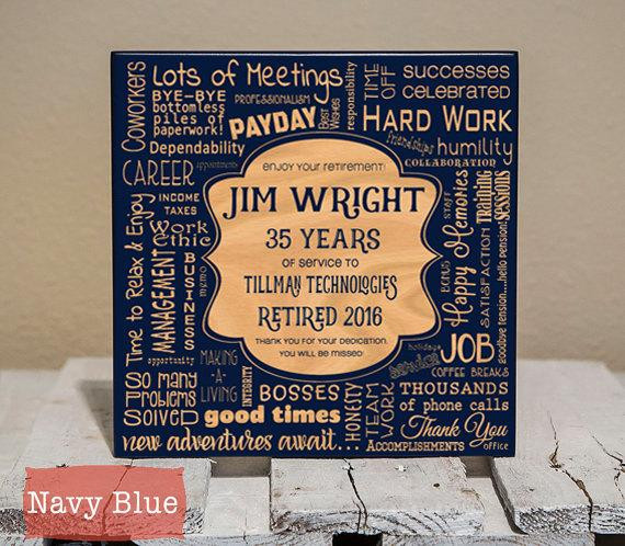 Best ideas about Teachers Retirement Gift Ideas . Save or Pin Personalized Retirement Collage Retirement Gifts Now.