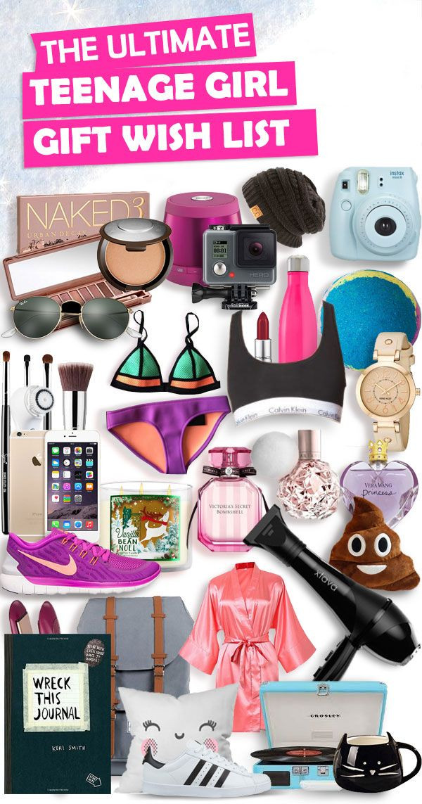Best ideas about Teen Birthday Gift Ideas . Save or Pin Christmas Gifts for Teenage Girls List [New for 2018 Now.