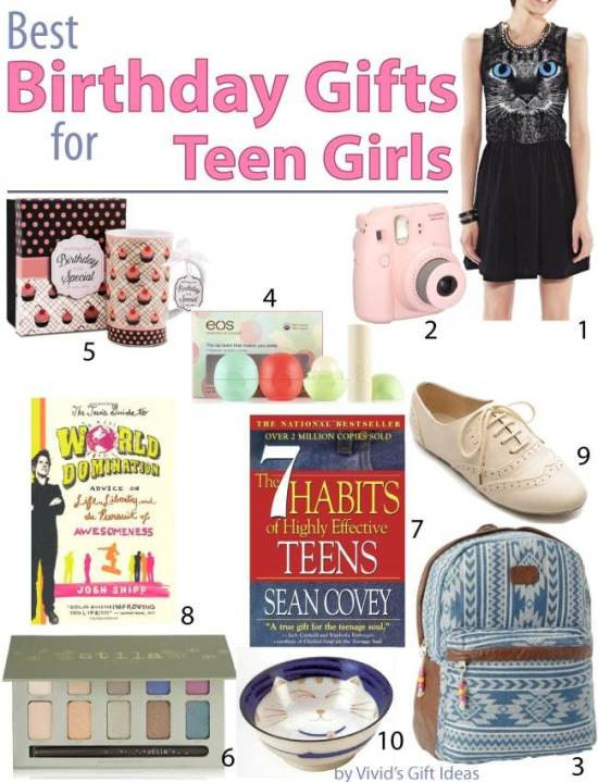 Best ideas about Teen Birthday Gift Ideas . Save or Pin Best Birthday Gift Ideas for Teen Girls Vivid s Now.