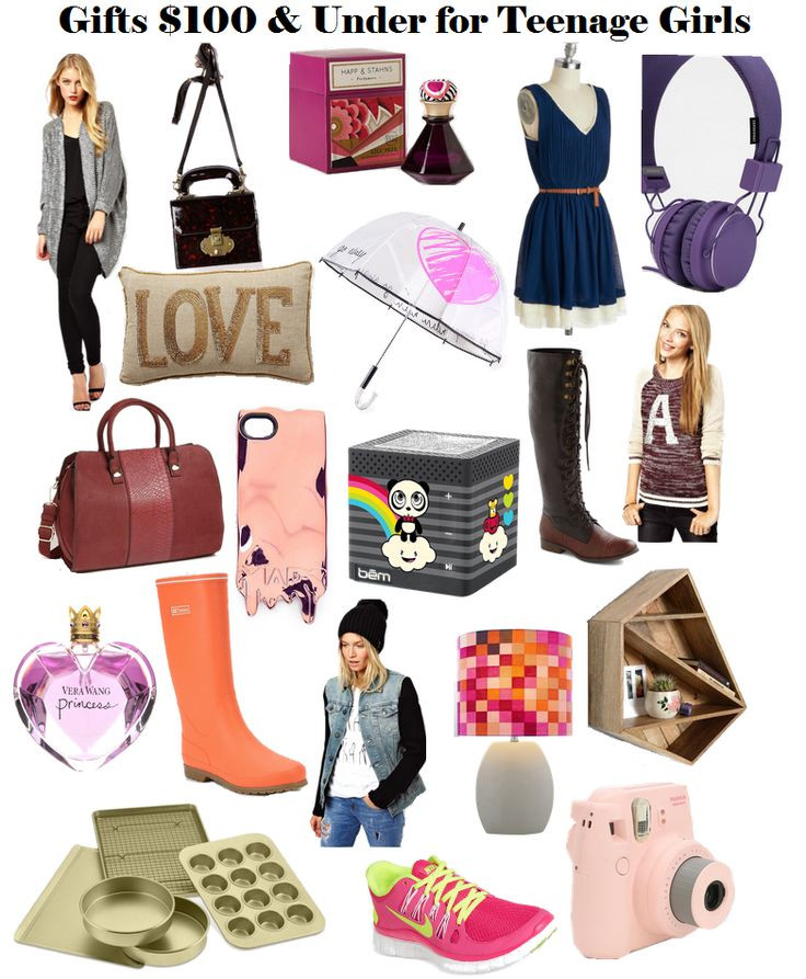 Best ideas about Teen Birthday Gift Ideas . Save or Pin Holiday Gift Ideas for Teen Girls Under $50 or $100 I Now.