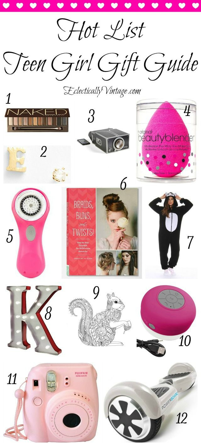 Best ideas about Teen Birthday Gift Ideas . Save or Pin Hot List Teenage Girl Gift Guide Now.