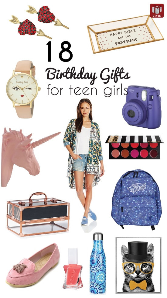 Best ideas about Teen Birthday Gift Ideas . Save or Pin 18 Top Birthday Gift Ideas for Teenage Girls Now.