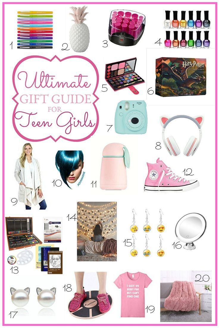 Best ideas about Teen Birthday Gift Ideas . Save or Pin Ultimate Holiday Gift Guide for Teen Girls Now.