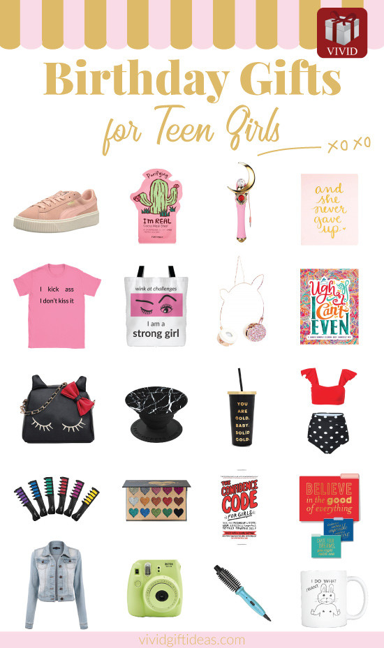Best ideas about Teen Birthday Gift Ideas . Save or Pin 20 Best Birthday Gifts for Teenage Girls [2019 Edition] Now.