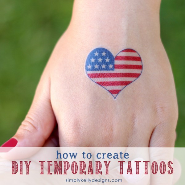 Best ideas about Temporary Tattoos DIY . Save or Pin DIY 4th of July Clothing and Accessories The Idea Room Now.