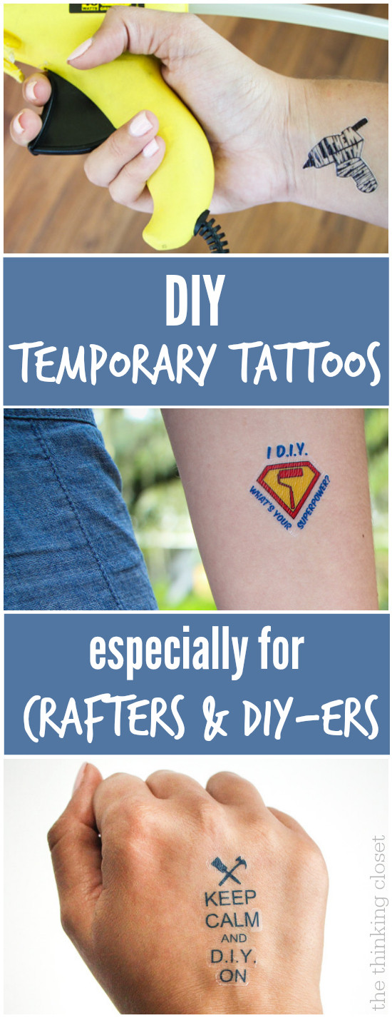 Best ideas about Temporary Tattoos DIY . Save or Pin DIY Temporary Tattoos Creative Business Card SWAG — the Now.