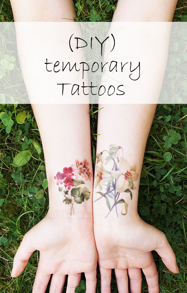 Best ideas about Temporary Tattoos DIY . Save or Pin Temporary DIY Tattoos Jonesing for Crafts Now.