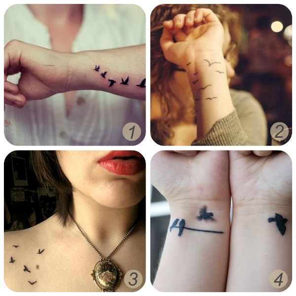 Best ideas about Temporary Tattoos DIY . Save or Pin Oh the lovely things Inspiration bird tattoos DIY Now.
