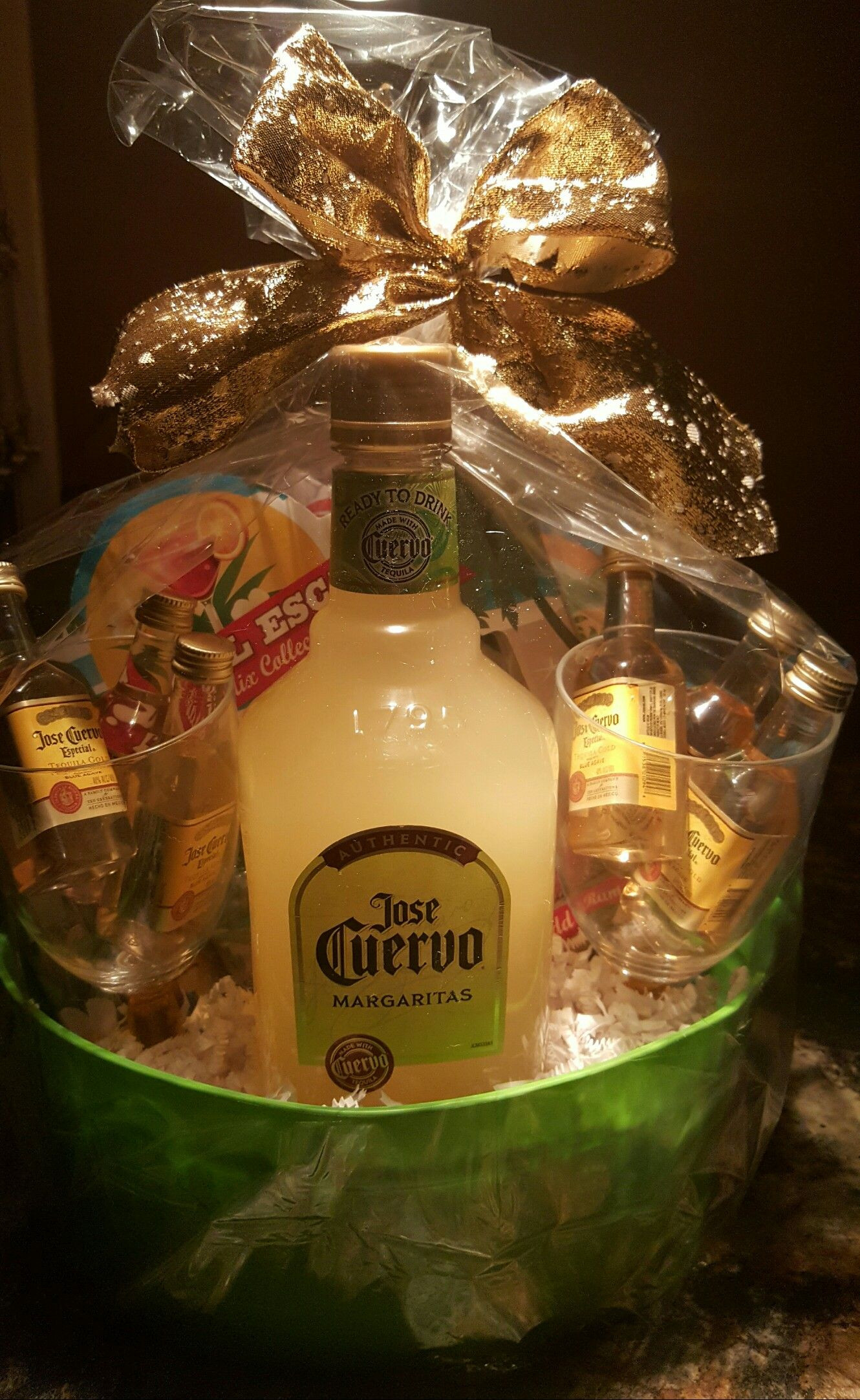 Best ideas about Tequila Gift Ideas . Save or Pin Liquor GIFT basket fundraiser ideas I used small Jose Now.
