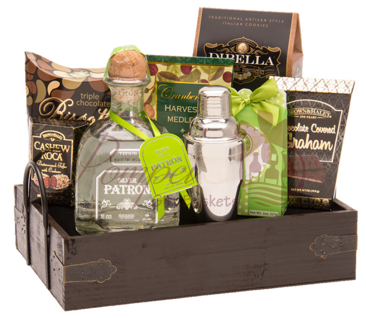 Best ideas about Tequila Gift Ideas . Save or Pin Margarita Party Tequila Gift Basket by Pompei Baskets Now.