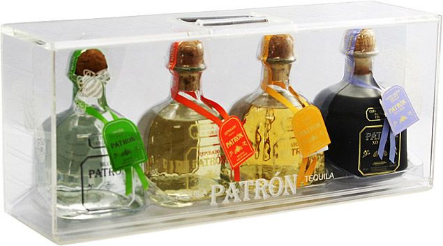 Best ideas about Tequila Gift Ideas . Save or Pin Patrón 4 Bottle Gift Set for the Tequila lover Now.