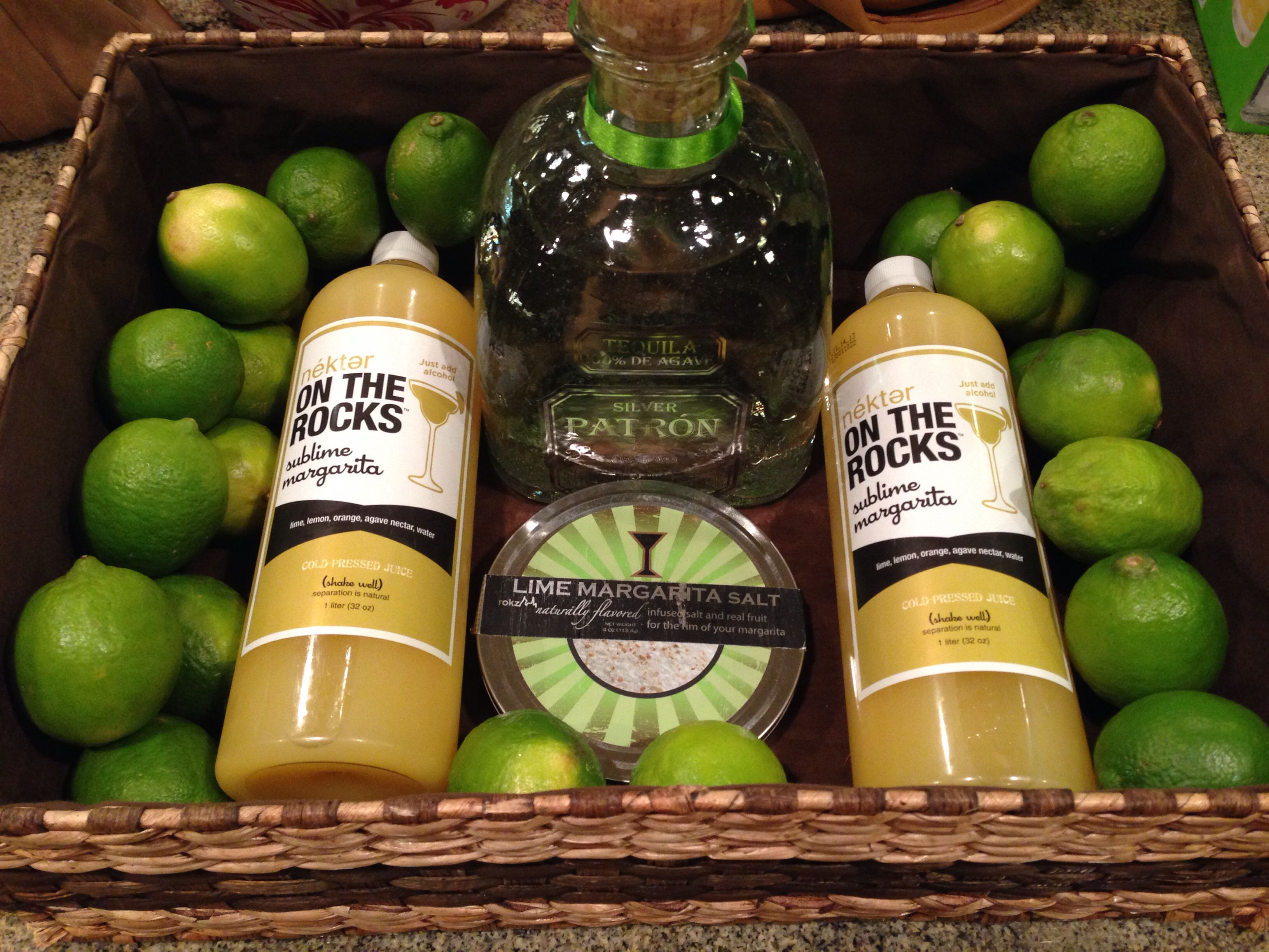 Best ideas about Tequila Gift Ideas . Save or Pin Skinny margarita t basket nekter juice patron Now.