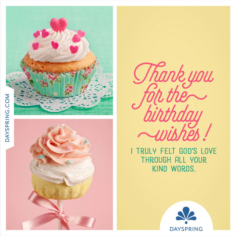 Best ideas about Thank U For Birthday Wishes . Save or Pin Thank You For The Birthday Wishes Ecards Now.