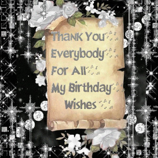 Best ideas about Thank U For Birthday Wishes . Save or Pin Birthday Thank You Message Now.