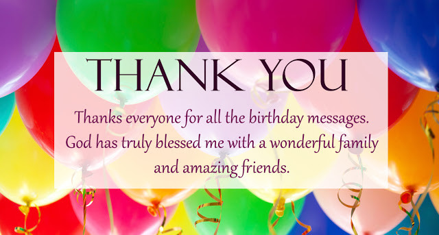 Best ideas about Thank You For The Birthday Wishes Facebook . Save or Pin Thank You for the Birthday Wishes Now.