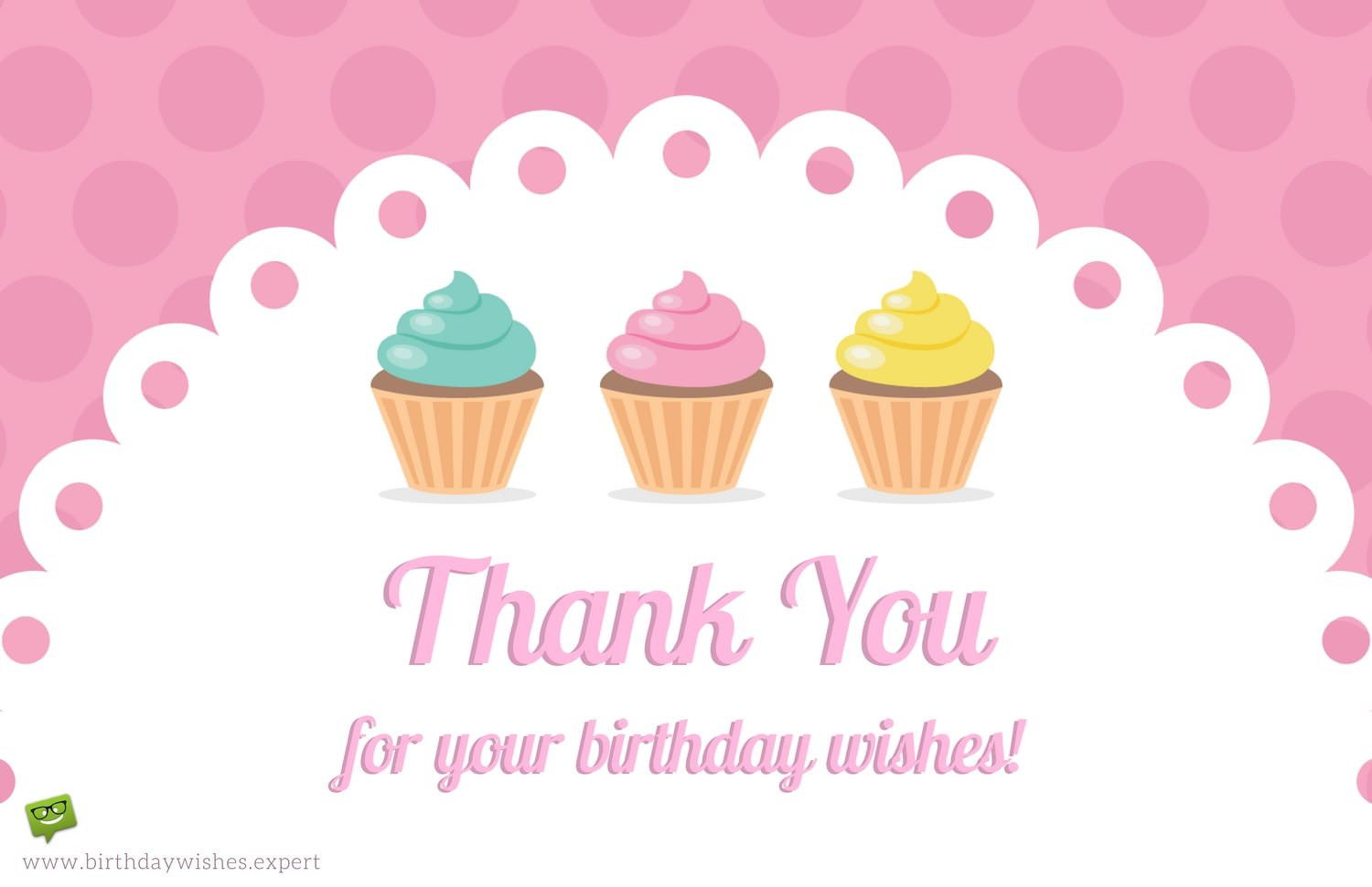 Best ideas about Thank You Note For Birthday Wishes . Save or Pin Thank You Notes for Your Birthday Wishes Now.