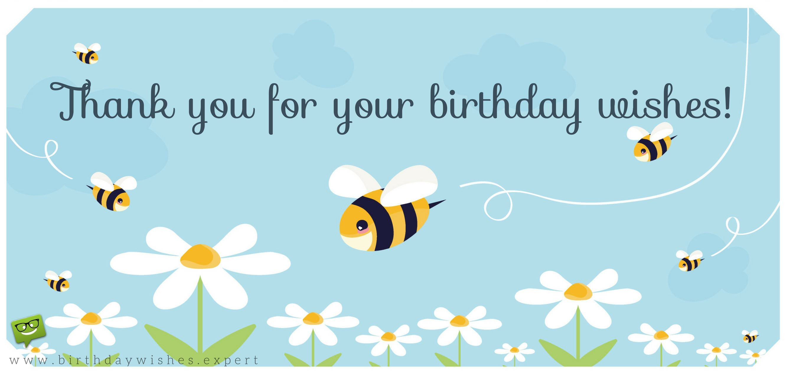Best ideas about Thank You Notes For Birthday Wishes . Save or Pin Thank you for your Birthday Wishes & For Being There Now.