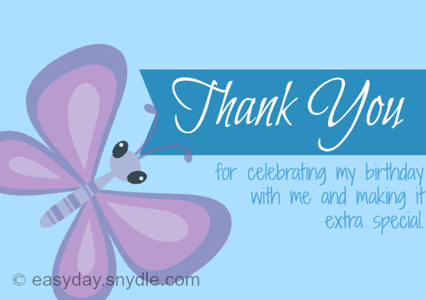 Best ideas about Thank You Notes For Birthday Wishes . Save or Pin How To Say Thank You For Birthday Wishes Easyday Now.