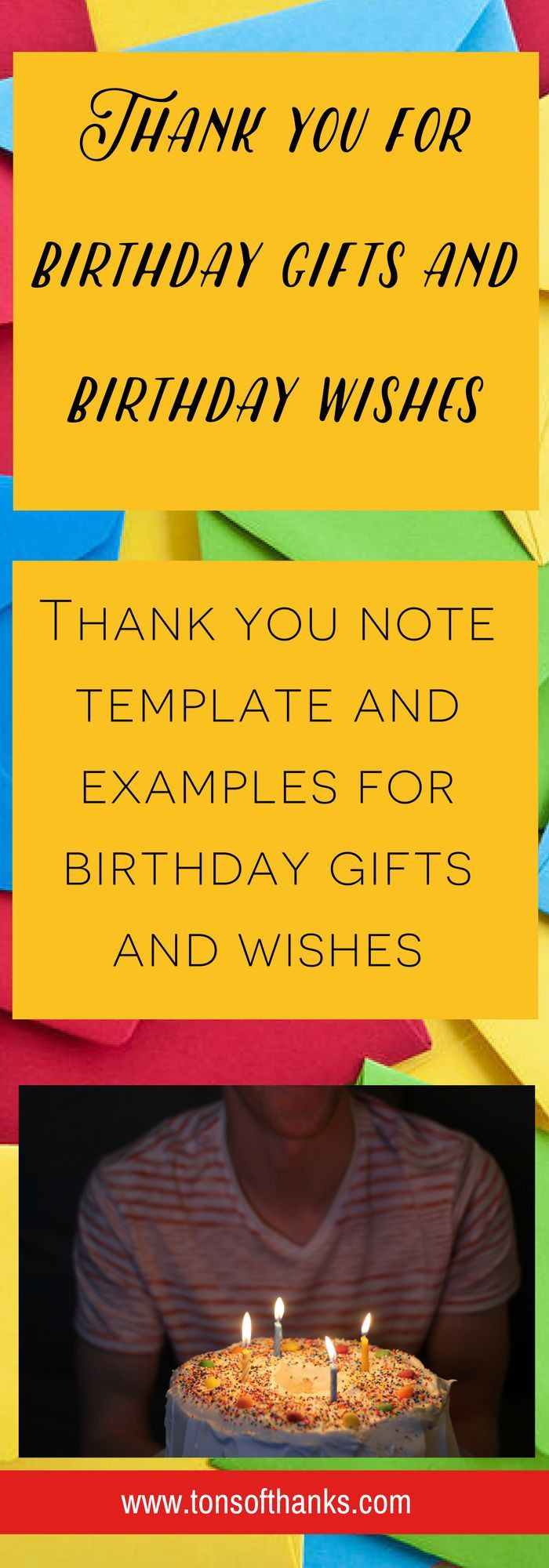 Best ideas about Thank You Notes For Birthday Wishes . Save or Pin 29 best Thank you notes at the fice images on Pinterest Now.