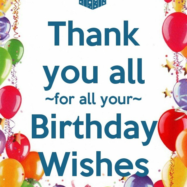Best ideas about Thanks For Birthday Wishes . Save or Pin Thank You for WhatsApp Now.