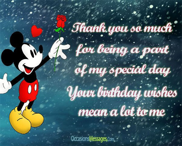 Best ideas about Thanks For Birthday Wishes Images . Save or Pin Thank You Messages for Birthday Wishes Now.