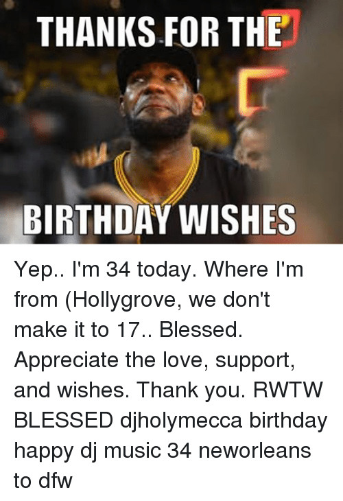 Best ideas about Thanks For The Birthday Wishes Meme . Save or Pin 25 Best Memes About Thanks for the Birthday Wishes Now.