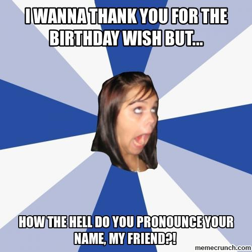 Best ideas about Thanks For The Birthday Wishes Meme . Save or Pin i wanna thank you for the birthday wish but Now.