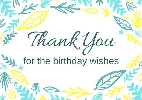 Best ideas about Thanks Message For Birthday Wishes . Save or Pin FREE Birthday Thank You Card Printables Now.