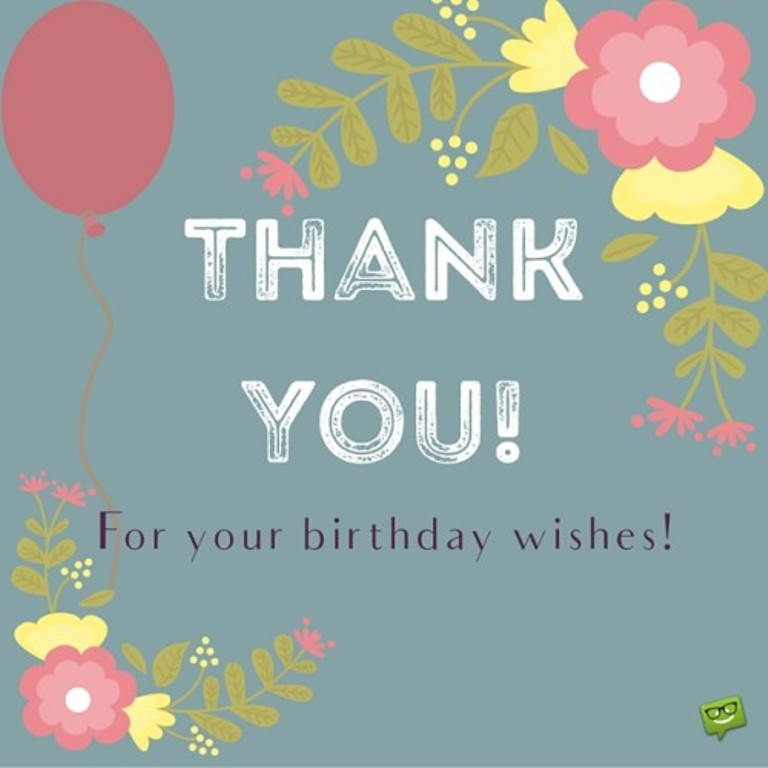 Best ideas about Thanks Quotes For Birthday Wishes . Save or Pin Quotes about Birthday thank you 27 quotes Now.